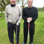 Bobby Charlton and Clayton Blackmore enjoy the 2013 event