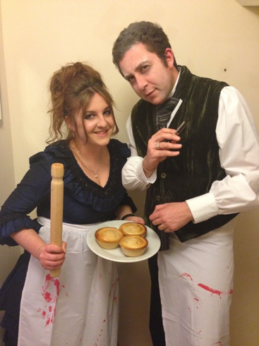 Knutsford's 'Sweeney Todd' and 'Mrs Lovatt'.