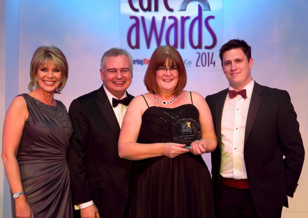 Prestigious award for Barchester regional director